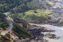 Overhead View Of Highway 101 A...