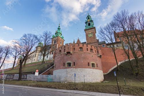 Wawel Royal Castle in Krakow (Poland) © julen
