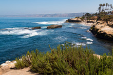 A View Of People At La Jolla C...