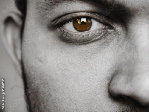 Fototapety, obrazy: Detail Shot Of Human Eye