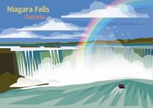 Niagara Falls, Canadian Province Of Ontario