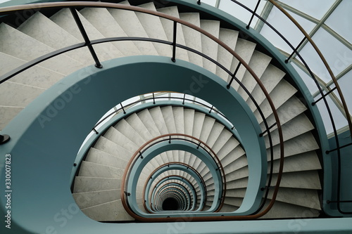 Photo spiral stairway to heaven