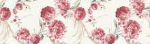 Flower, Background Pattern, W...