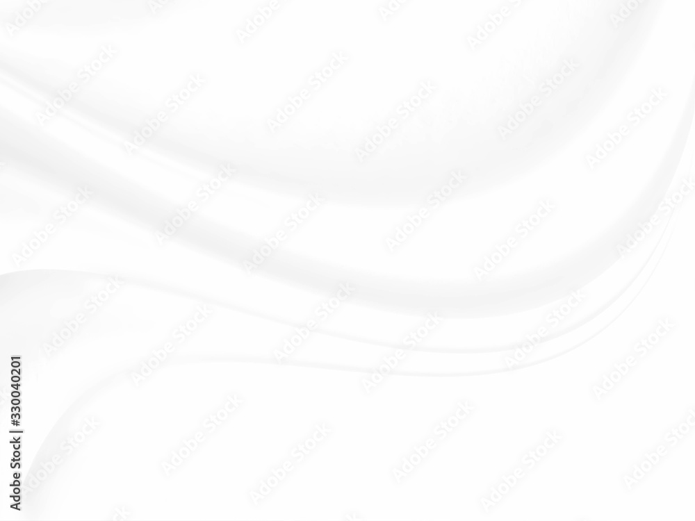 White cloth background abstract with soft waves.white background