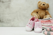 Pink Baby Girl Shoes, Newborn ...