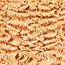 Instant Noodles On Background