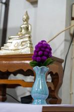 Set Of Altar Table For Buddha Sothon Make Merit
