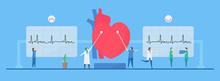 Cardiology Vector Illustration...