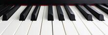 Modern Synthesizer Keyboard