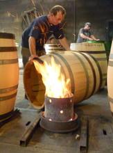 Coopers Making Barrels At Workshop