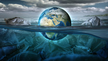 The Earth Floats In The Sea Fu...