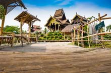 Beautiful Park Of Tah Mai I Te...
