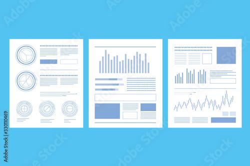 書類 グラフ 数値 数字 会議 ミーティング 打ち合わせ Canvas Print