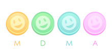 Mdma Or Ecstasy Tablets Icon
