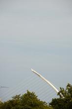 Samuel Beckett Bridge In Dublin City, Ireland