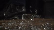 Glassware Falling To The Groun...