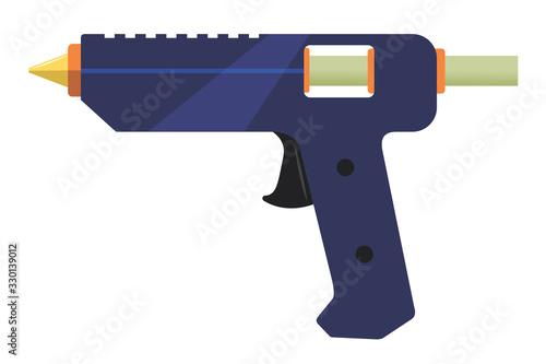 Electric glue gun Wallpaper Mural