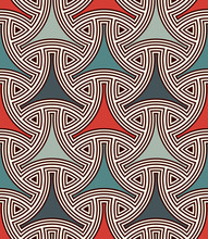 Seamless Pattern With Traditio...