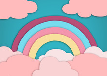 Rainbow In The Pink Cloud