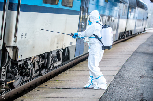 Coronavirus outbreak Wallpaper Mural