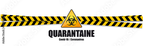 Coronavirus Covid-19 / quarantaine Wallpaper Mural