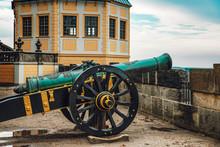 Old Cannon In The Königstein ...