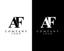 Af, Fa Modern Initial Logo Des...