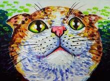 Art Painting Acrylic Color Smi...