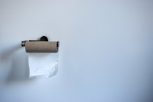 Out Of Toilet Paper. Toilet Pa...