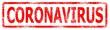 Leinwanddruck Bild - CORONAVIRUS rubber stamp, banner Corona Virus disease 2019