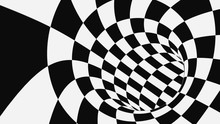 Black And White Psychedelic Op...