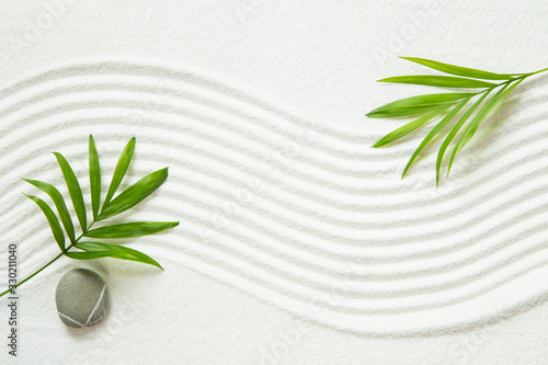 Zen pattern Wallpaper Mural