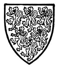 Leyburne Of Kent Bore Azure Si...