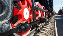 Old Train. Rusty Iron. Iron Wh...