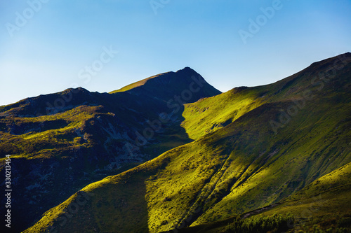 Fototapety, obrazy: Beautiful generic simple mountain landscape in summer