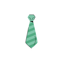 Neck Tie Elegant Accessory Icon