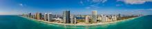 Best Aerial Panorama Miami Sun...