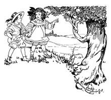 Children, Vintage Illustration