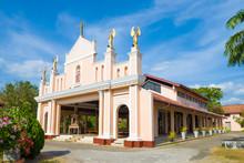 Old Catholic Church Of St. Philip Neri On A Sunny Day. Negombo, Sri Lanka