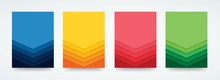 Colorful Lines Template Backgr...