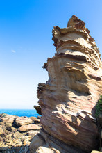 Taiwan Nanya Is Noted For Its Fantastic Rock Formations And Sea-eroded Coral Shore