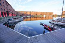 The View Of Albert Dock Wareho...