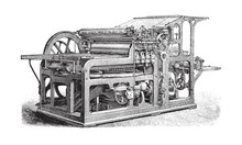 Old Automatic Cylinder Printin...