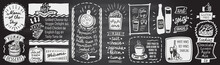 Chalk Menu Board - Desserts, S...