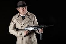 Gangster With Machine-gun