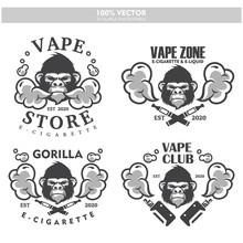 Gorilla Head Vapor E-cigarette...