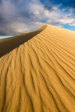 A Dramatic Vertical Dune Lands...