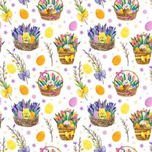 Watercolor Seamless Pattern Wi...