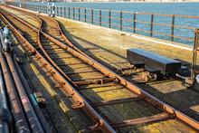 Southend Pier Railway. Two Rai...