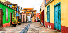 Charming Colorful Old Streets ...